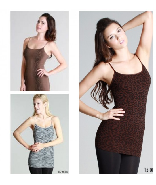 Nikibiki 3 Pack Animal Print Camisole Sale