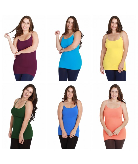 Nikibiki 5 Pack Plus Sized Camisoles