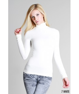 Nikibiki Long Sleeve Mock Neck Top