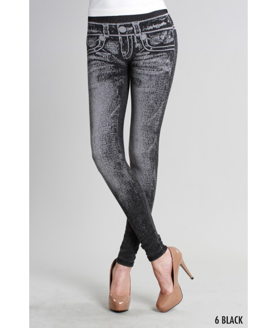Nikibiki Denim Look Leggings
