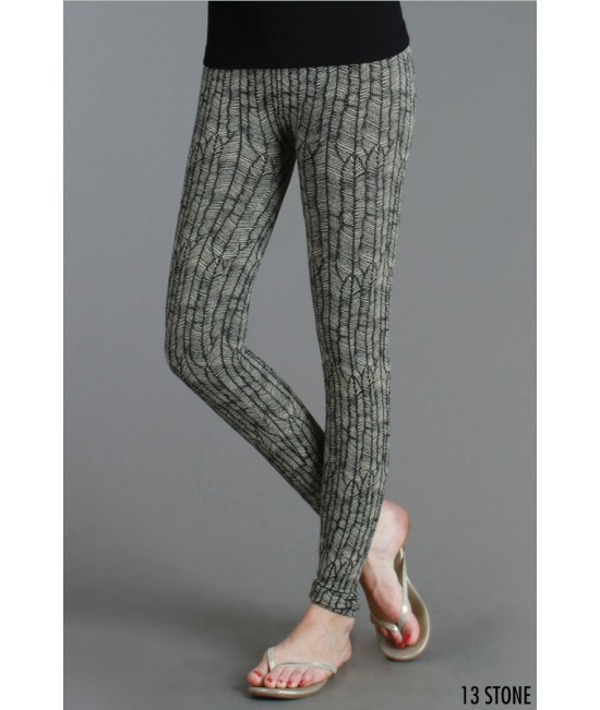 Nikibiki Feather Print Leggings