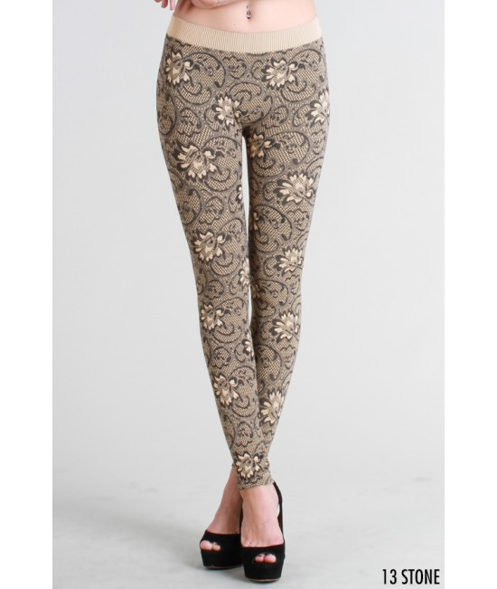 Nikibiki Floral Zacarrdi Long Leggings