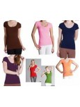 5 Pack Nikibiki Cap Sleeve Tops