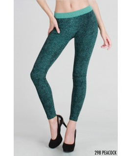 Nikibiki Lizard Printed Leggings