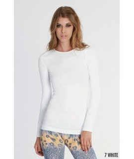 Nikibiki Long Sleeve Crew Neck Top