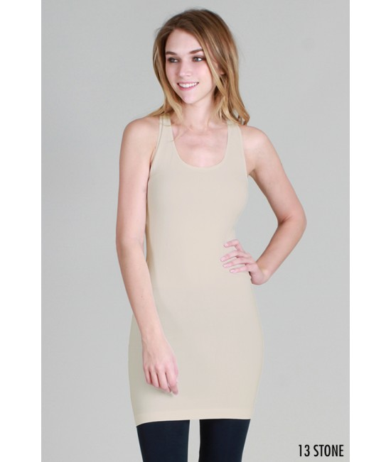 Nikibiki Plain Jersey Racerback Dress
