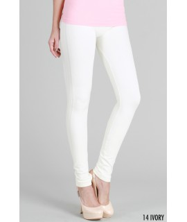 Nikibiki Ribbed Long Leggings with Side Lines