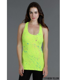 Nikibiki Splatter Ribbed Tank Top